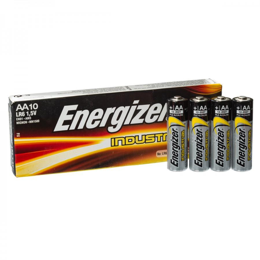 Energiser Industrial Battery 1 5v Aa X 10